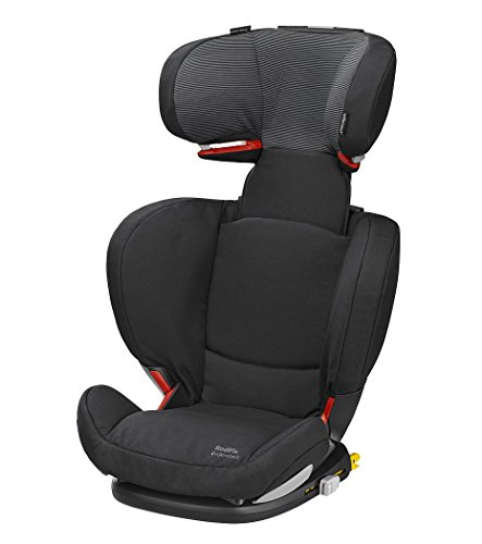 Bébé Confort Rodifix Air Protect - Silla de auto, grupo 2/3, 15-36 kg, color Black Raven