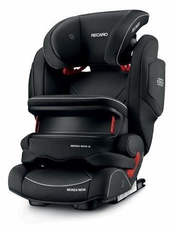 RECARO Monza Nova IS - Silla de coche, grupo 1/2/3, color performance black